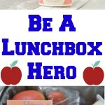 Be A Lunchbox Hero + Free Printable Lunchbox Notes