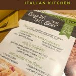 Dinner and Leftovers Made Easy with Olive Garden + Giveaway
