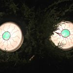Spooky Eyes Outdoor Halloween DIY Decor