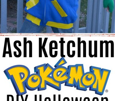 Ash Ketchum – Pokemon DIY Halloween Costume