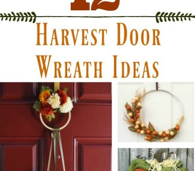 Harvest Door Wreath Ideas