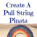 Turn A Traditional Pinata into a Pull String Pinata