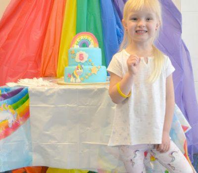 Throwing A Rainbow Unicorn Birthday Party