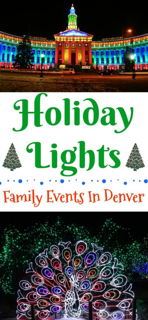 Holiday Lights Family Events In Denver Building Our Story