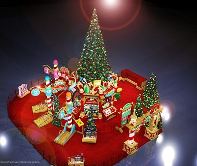Santa's Toy Factory is Coming to Town