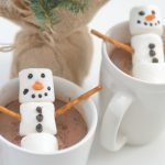 Stephen's Hot Cocoa + Snowman Marshmallows
