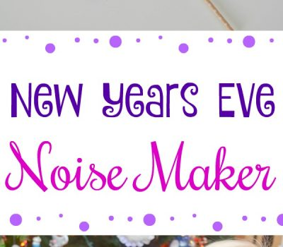 Easy New Years Eve Noise Maker Craft