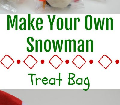 Make Your Own Snowman – Treat Bag