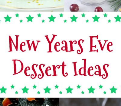 New Years Eve Dessert Ideas
