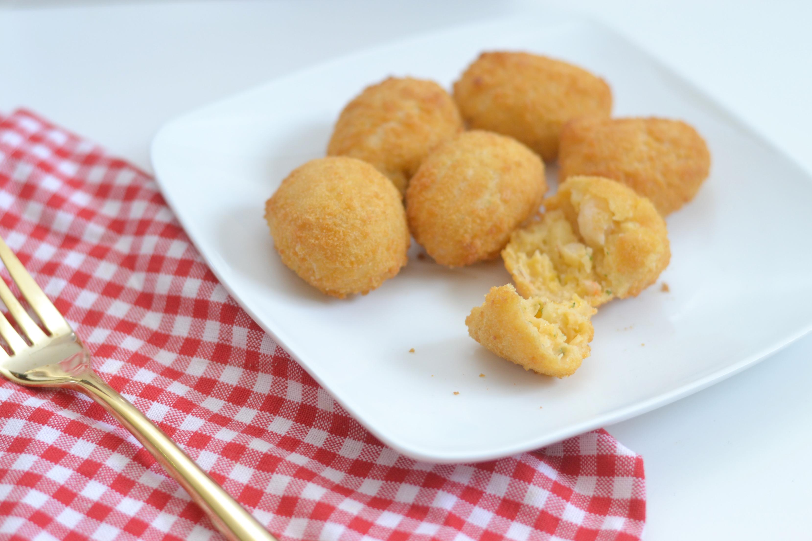 Shrimp Appetizer ideas, Gorton's Seafood Appetizers - Mac n Cheese Shrimp Bites,