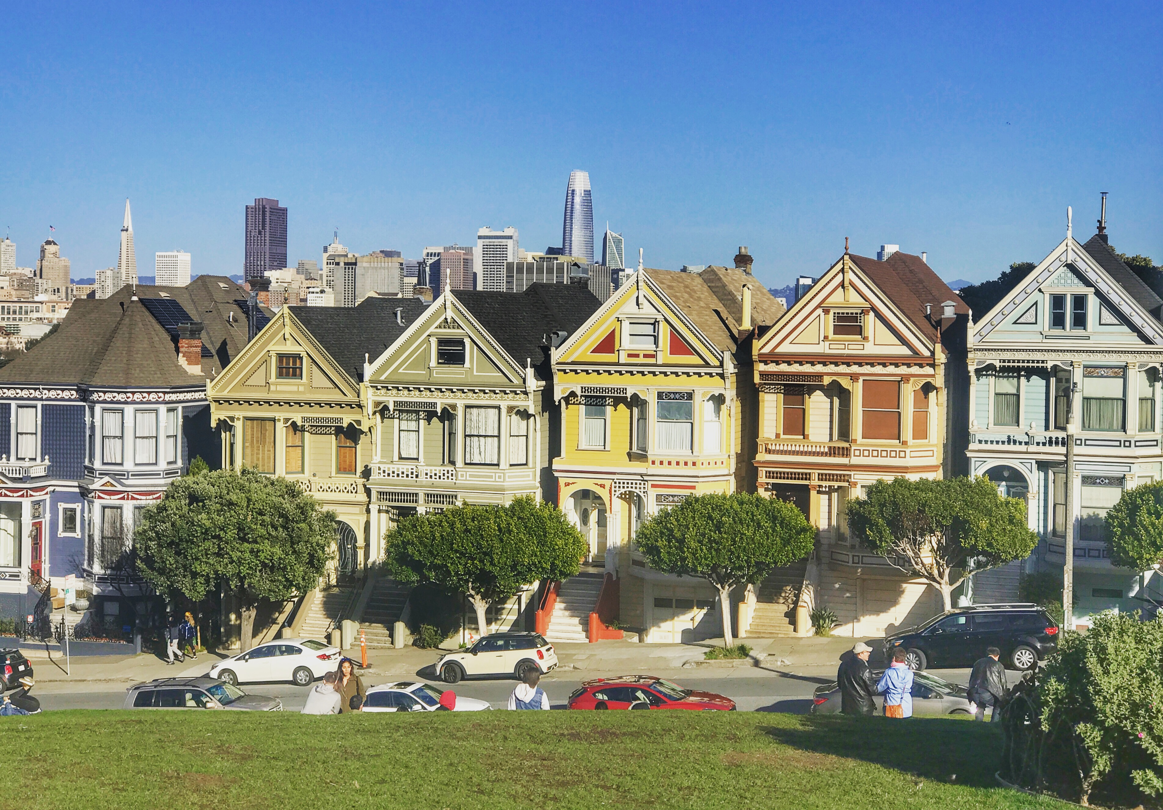 Painted Ladies San francisco, Painted ladies houses, Full House house in San Francisco, Explore San Francisco in One Day