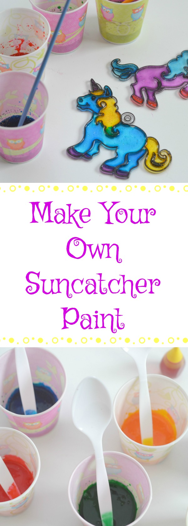 Make your own suncatcher paint, can you make suncatcher paint?, how to make suncatcher paint, where to buy suncatcher paint, easy DIY suncatcher paint