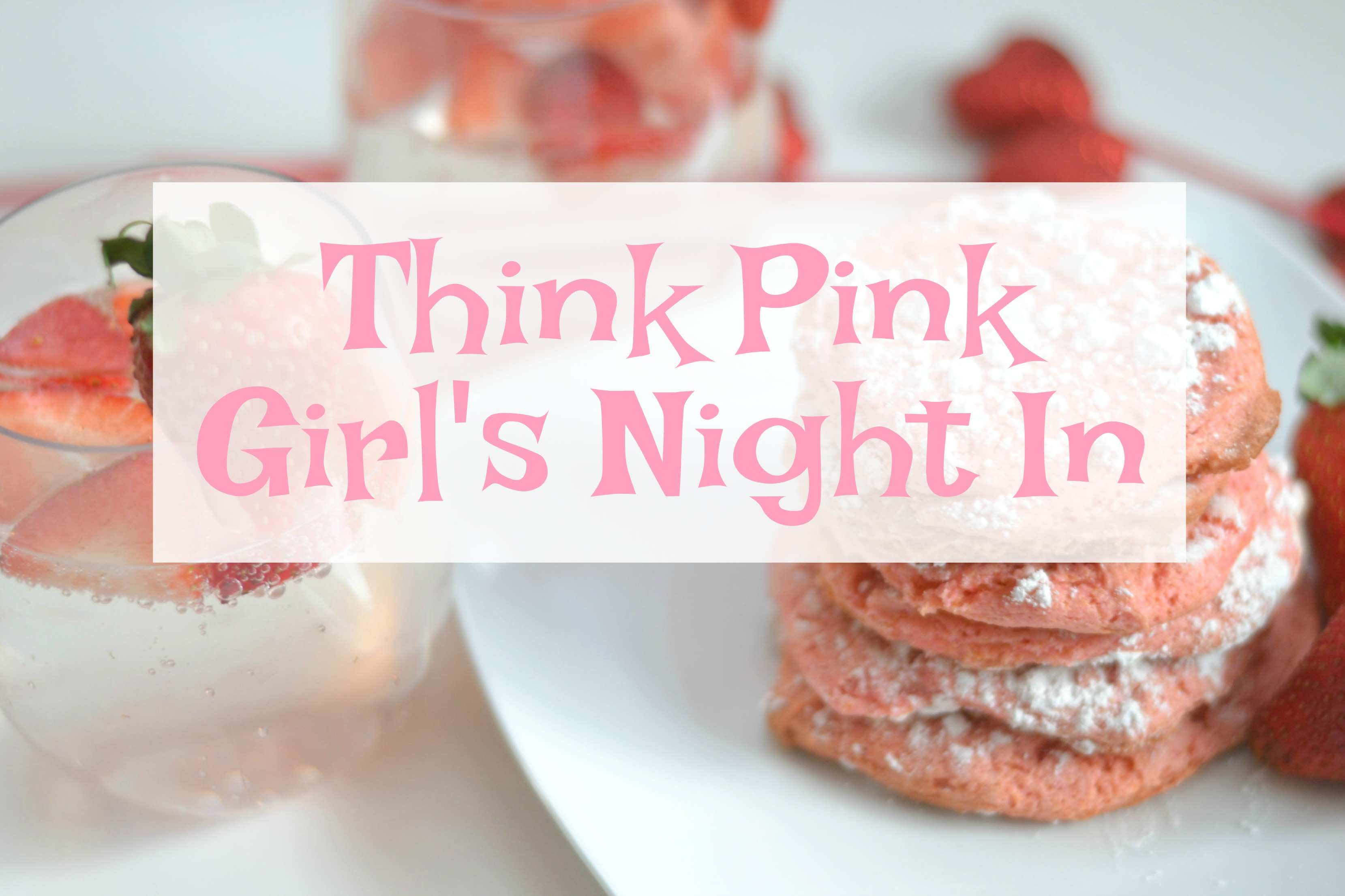 recipes using 7UP, 7UP recipes, 7UP cookie recipe, 7UP Strawberry Fizz, 7UP drinks, ideas for girl's night in, girl's night in party, 7UP Strawberry Crinkle Cookies, crinkle cookie recipes, baking recipes with soda, easy dessert recipes, desserts, strawberry dessert recipes, strawberry and lime desserts