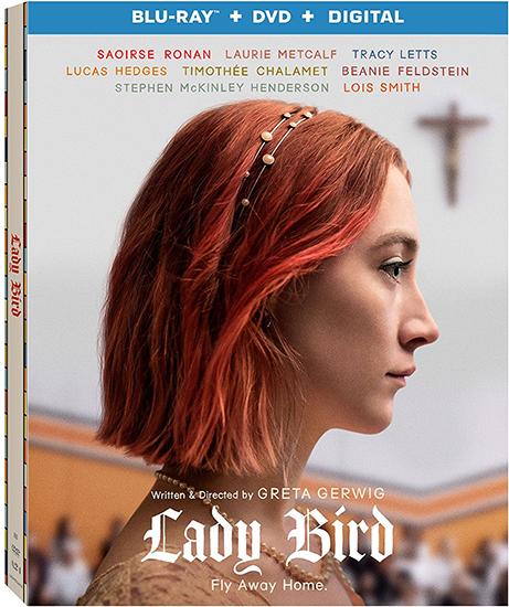 "lady bird movie review, lady bird movie giveaway, lady bird, lady bird on DVD, Oscar® Nominated ""Lady Bird"""