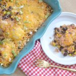 Black Bean & Salsa Chicken Casserole