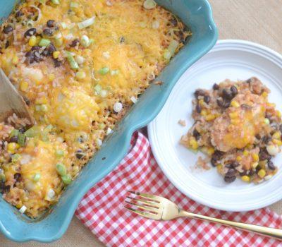 Black Bean & Salsa Chicken Casserole