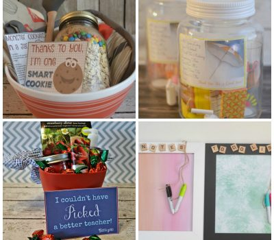 9 DIY Teacher Gifts