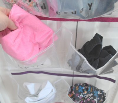 DIY Weekly Outfit Organizer For Kids