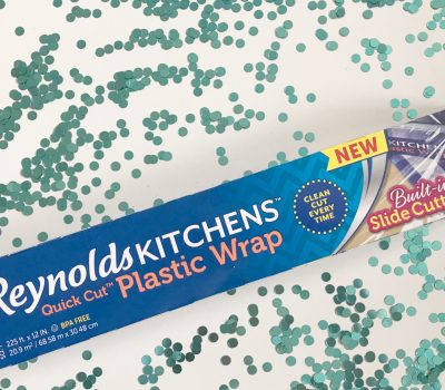 Victories Come In All Sizes – Reynolds KITCHENS® Quick Cut™ Plastic Wrap Hacks