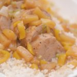easy pineapple pork instant pot, instant pot pork, instant pot recipes, instant pot dinners, how to use an instant pot, pineapple pork recipes, easy pineapple pork, how to make pineapple pork, pork recipes, pork,