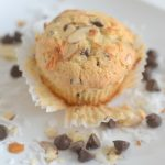 Almond joy muffins, coffee creamer muffins, recipes using coffee creamer, muffin recipes using coffee creamer, almond joy recipes, dessert recipes, easy muffin recipes