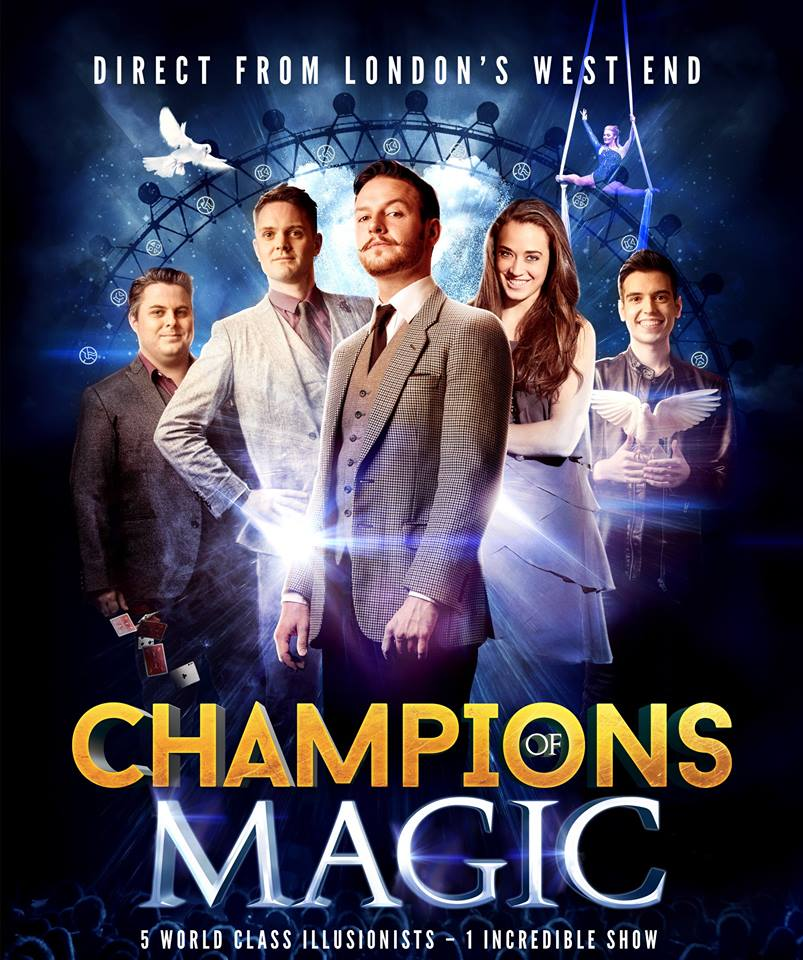 Champions of Magic Denver, Champions of Magic show, magic shows, Champions of Magic magic show