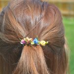 Vibrant Summer Hair + Floral Hair Clip Tutorial