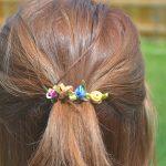 Vibrant Summer Hair + Floral Hair Clip Tutorial
