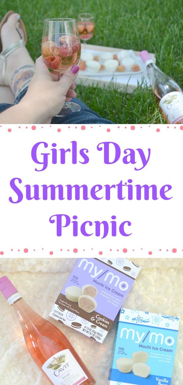 Girls Day Summertime Picnic, girls night in, fun girls night party, summer picnic ideas