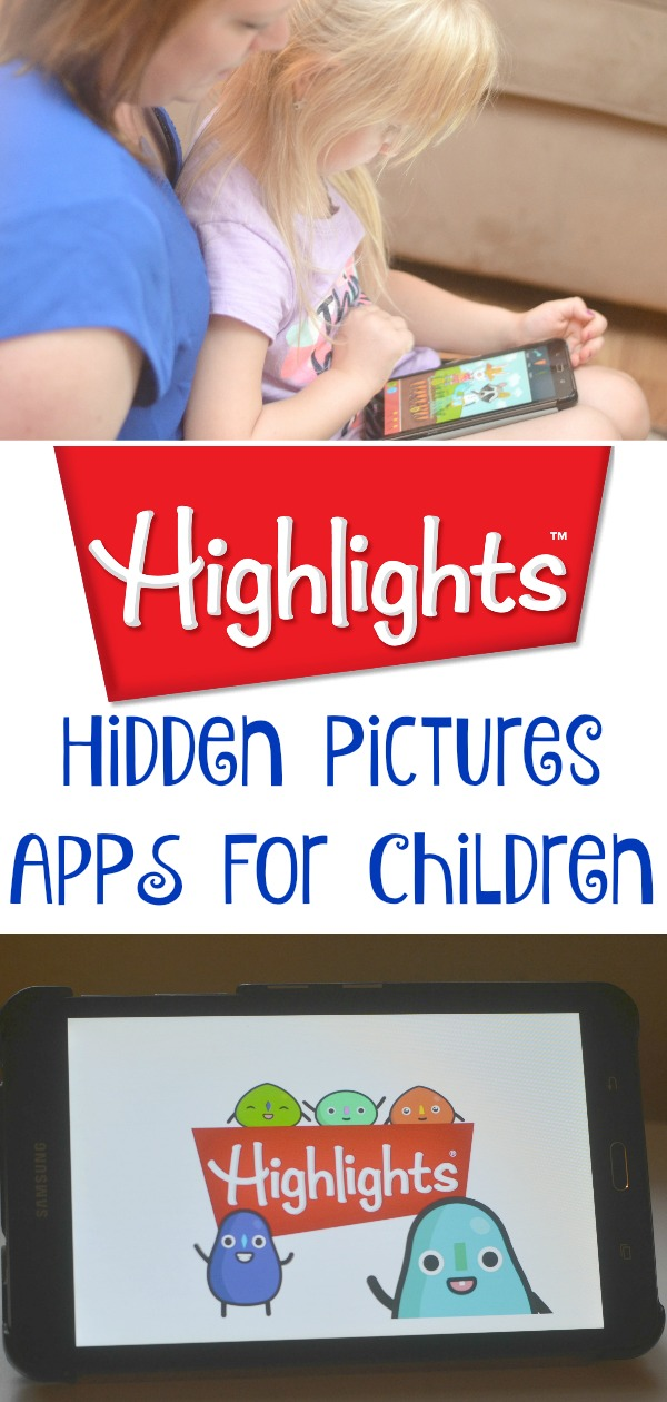 Highlights Apps for children, Hidden Pictures Puzzles, Hidden Pictures Puzzle Town, Highlights Apps, Highlights Hidden Pictures Puzzle Town, Apps for kids, educational apps for kids, apps for children