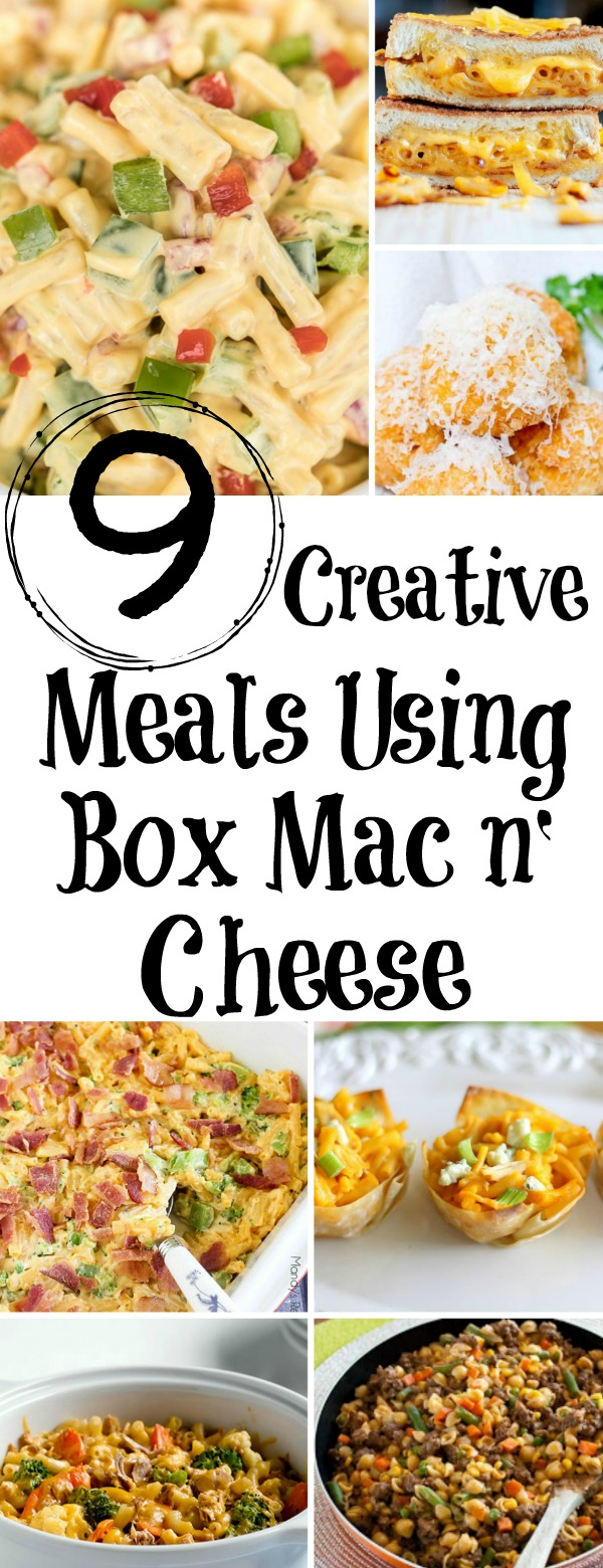 Meals Using Box Mac n' Cheese, box kraft mac and cheese, meals using box macaroni and cheese, box mac and cheese makeover, kraft mac and cheese, box mac and cheese recipes