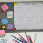 Create A Family Calendar Using A Cookie Sheet
