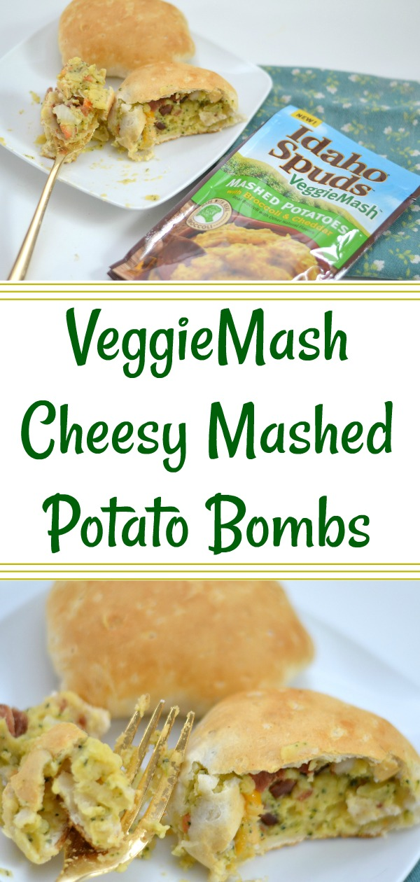 VeggieMash Cheesy Mashed Potato Bombs, mashed potato bombs, veggies wrapped in biscuits, how to make mashed potato bombs, veggie mash recipes, recipes using Veggies, Recipes using mashed veggies, mashed vegetables, mashed potato bomb recipes, easy dinner recipes, kid friendly dinner recipes, healthy dinner recipes, how to get your kids to eat more veggies