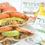 Delicious Tuna Salad Pita Pockets
