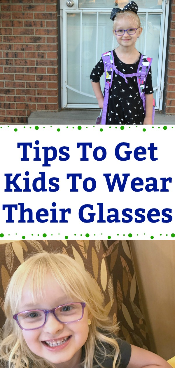 Tips to get kids to wear their glasses, teaching kids to wear glasses, how to get kids to wear their glasses, tips for young kids who wear glasses, finding confidence when wearing glasses,