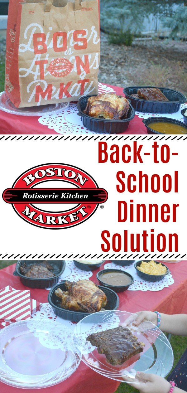 Get Dinner on the Table for Back-to-School, easy dinner solutions for families, Boston Market family meals, family meals, back to school family meals, tips for getting dinner on the table #BostonMarketBTS