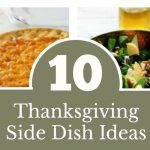 10 Thanksgiving Dinner Side Dish Ideas