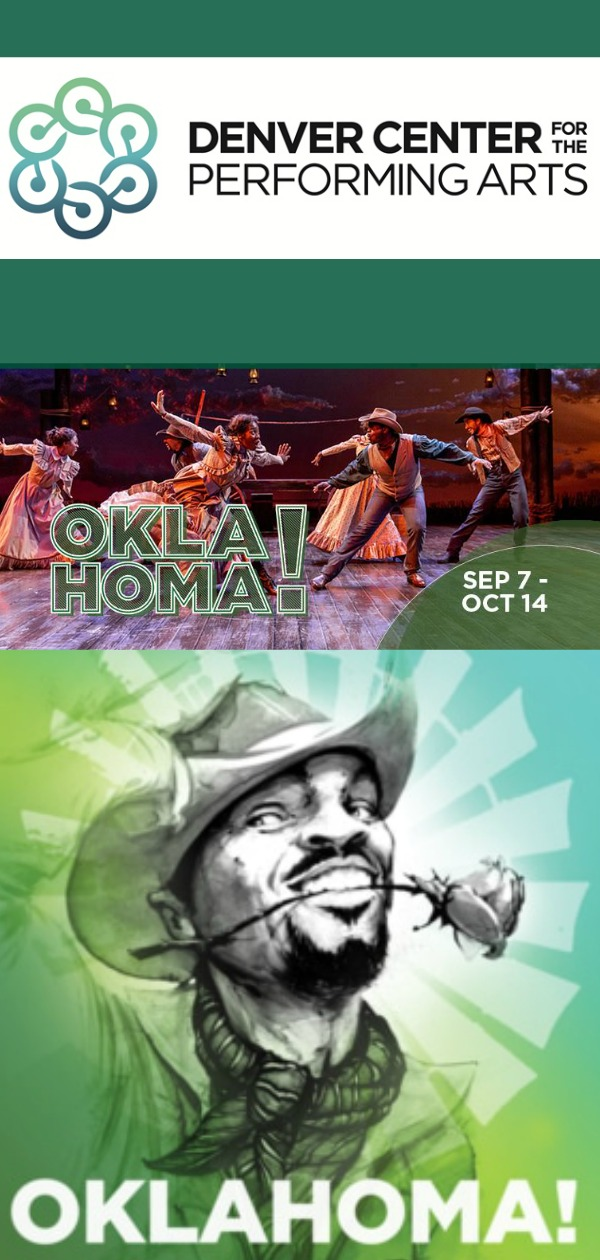 Theater in Denver, Theaters in Denver, Oklahoma play, OKLAHOMA, DCPA OKLAHOMA, things to do in Denver, things to do in Colorado, visiting Denver Center for the performing arts