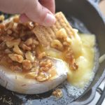 Honey Walnut Baked Brie Appetizer