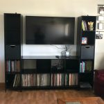 Living Room Update With Mainstays Cube Storage Home Entertainment Center