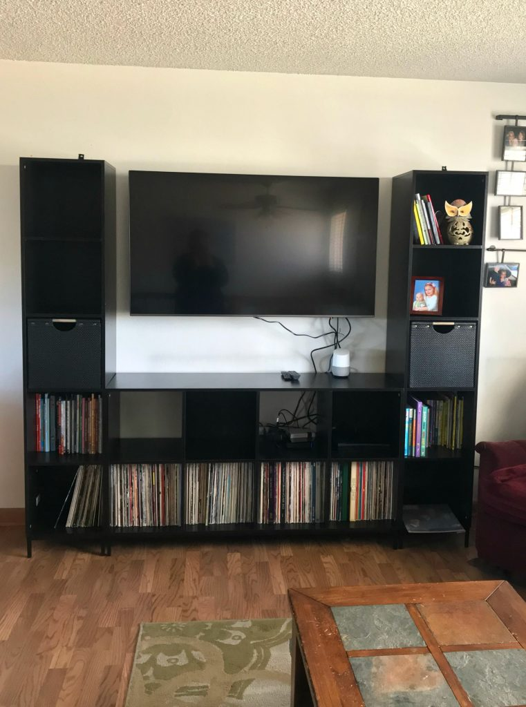 Walmart House: Living Room Update With Mainstays Cube Storage Home