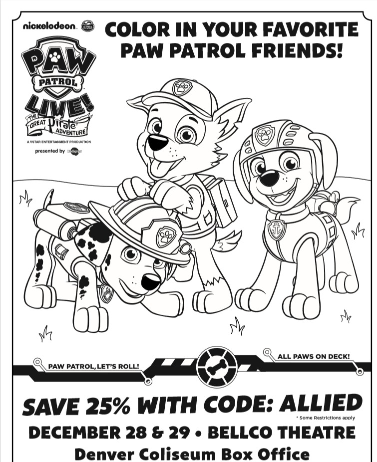 Paw Patrol Live Coming To Denver Giveaway Building
