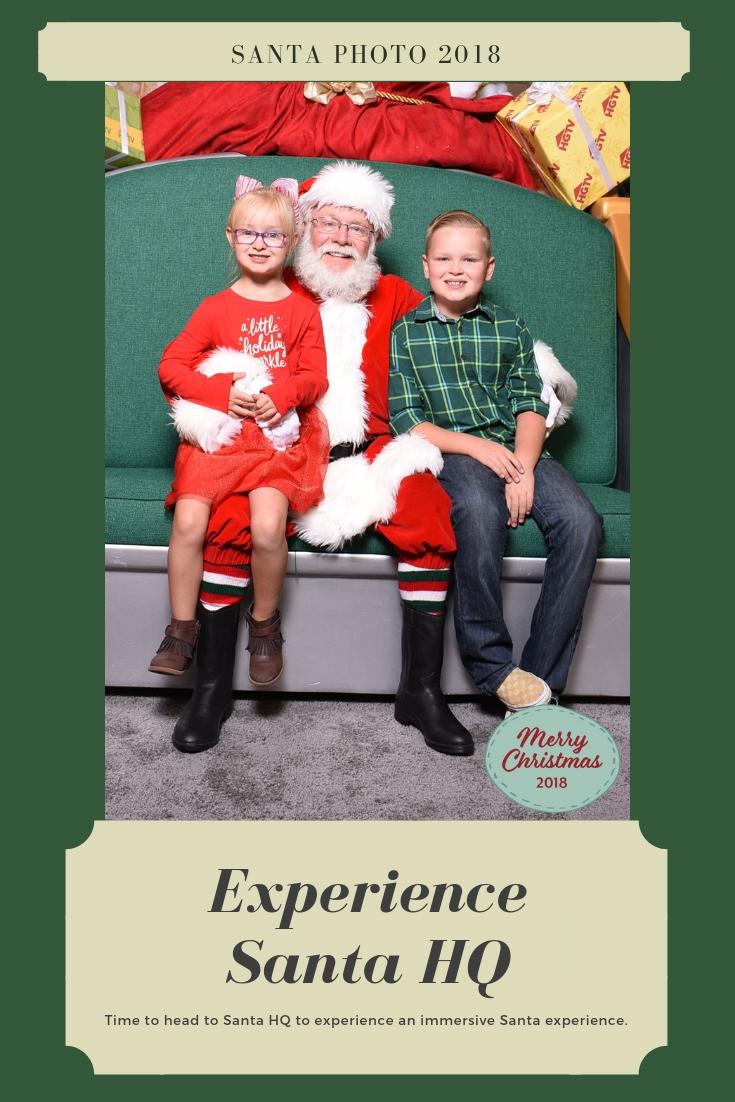 Santa HQ, What to expect at Santa HQ, Santa HQ Colorado, HGTV Santa HQ, Where to see Santa in Colorado, Reservations for Santa in Colorado, Best Santa in Colorado 2018