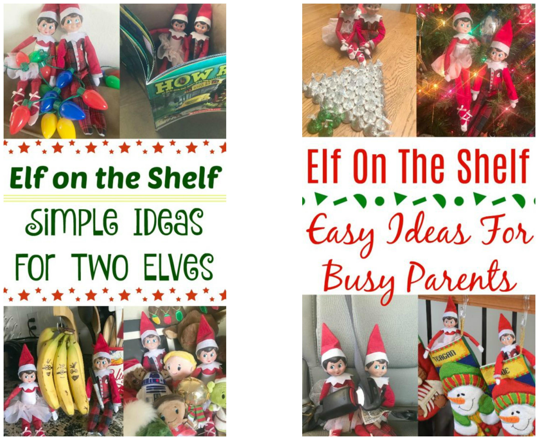 elf on the shelf ideas for the busy mom, Elf On The Shelf - Easy Ideas For Busy Parents, easy elf on the shelf ideas, creative elf on the shelf ideas, favorite elf on the shelf ideas, ideas for two elves on the shelf, elf on the shelf - two elves,