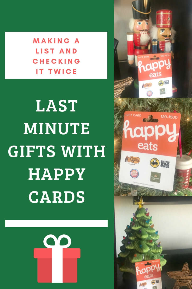 last minute christmas gift ideas, christmas gifts, easy gift ideas, easy last minute gift ideas, gift cards for everyone, gift card ideas, how to give the best gift, creative ways to give a gift card, Happy Cards gift cards