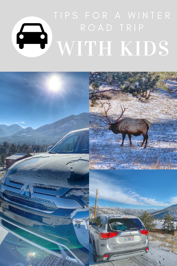 Tips for winter road trips with kids, road trip tips for families, road trip tips for kids, how to survive a road trip in the winter, winter car kit, emergency winter car kit, Features of Mitsubishi Outlander Sport, cool features of the Mitsubishi Outlander, Why should I purchase the Mitsubishi Outlander, Mitsubishi Outlander Sport Specs