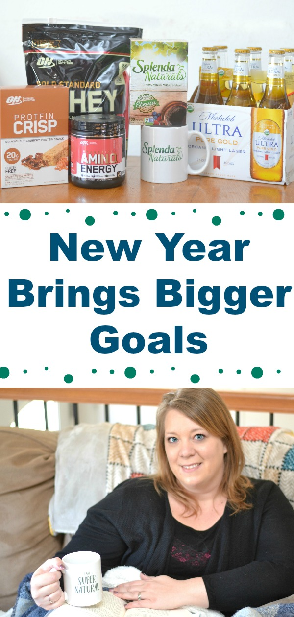 Finding our healthier new year! Finding ways to make little changes in everyday life can lead to the achievement of those New Year goals!  Adding some new products to the daily routine is a great way to keep on track in the new year.