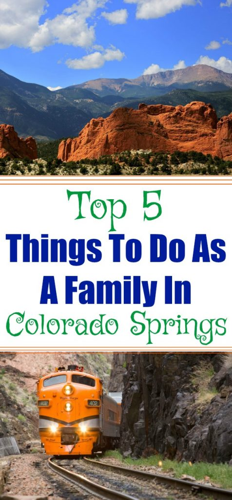 Things to do in Colorado Springs, family trips in Colorado springs, top 5 things to do as a family in Colorado Springs, Spring break in colorado, where to go for spring break, spring break destinations, colorado day trips, where to visit for spring break, spring break in denver, ideas for spring break in colorado, travel tips for spring break
