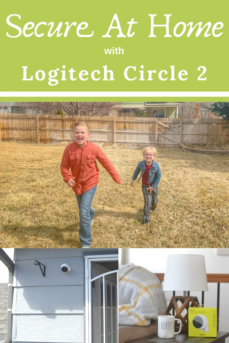 the best home security cameras, secure at home, safety for the home, tips on feeling safe at home, keeping kids safe and secure in the backyard, Logitech Circle 2 camera
