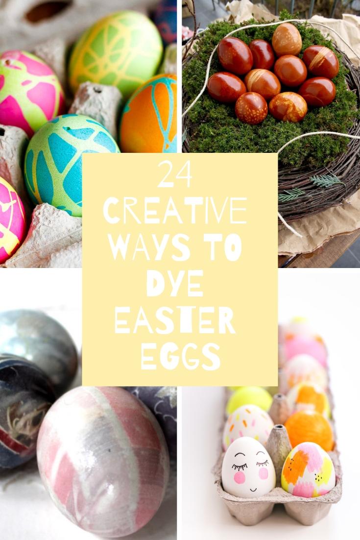 creative ways to dye easter eggs, creative ways to color easter eggs, fun easter eggs, how to dye easter eggs, use lace to dye easter eggs, use food coloring to dye easter eggs, natural ways to color easter eggs, natural ways to dye easter eggs
